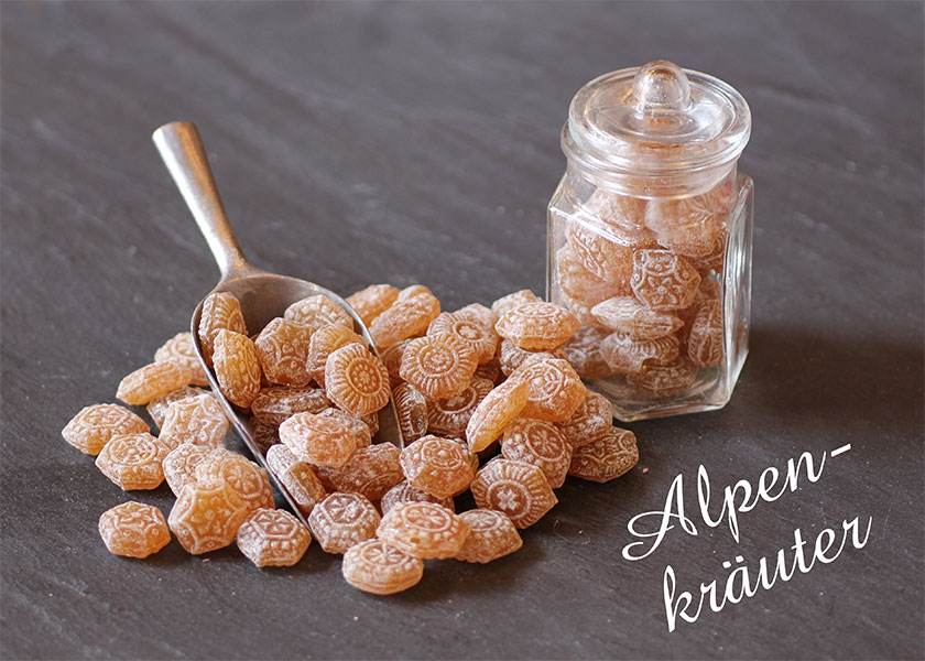 Bonbon Alpenkräuter