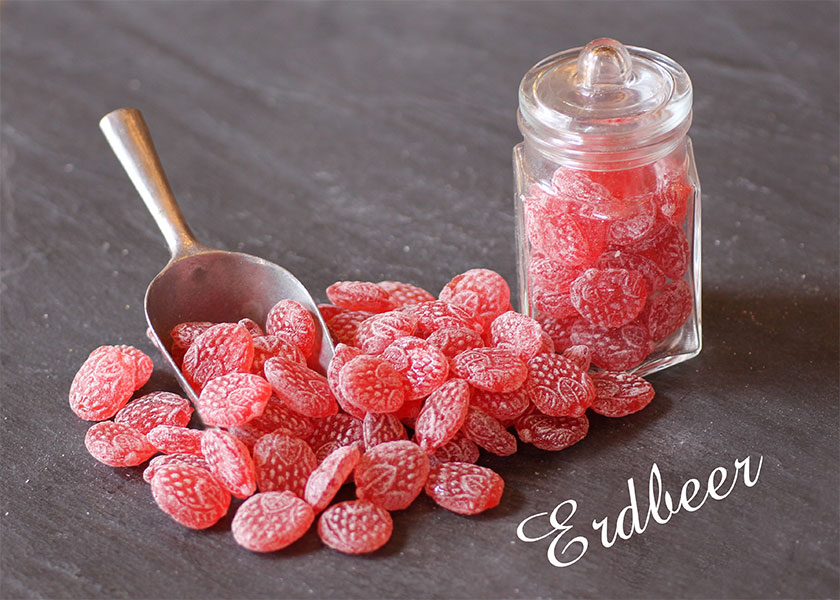 Bonbon Erdbeere