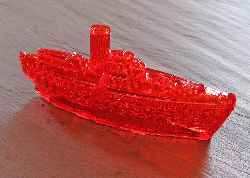 Zuckerfiguren - Schiff