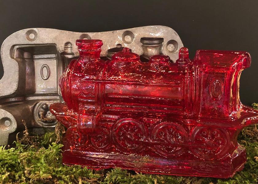Zuckerfigur Lokomotive